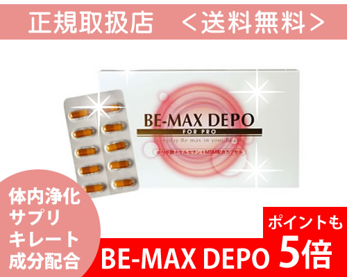 BE-MAX DEPO(ビーマックス デポ)(シリアルナンバー付正規品)*送料無料(当サロンは正式契約店です。)