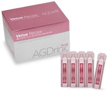 アクシージア ヴィーナス レシピ AGドリンク プラス(20ml×30本入り) コラーゲン/ハーブ/美容ドリンク/AXXZIA/AG DRINK PLUS