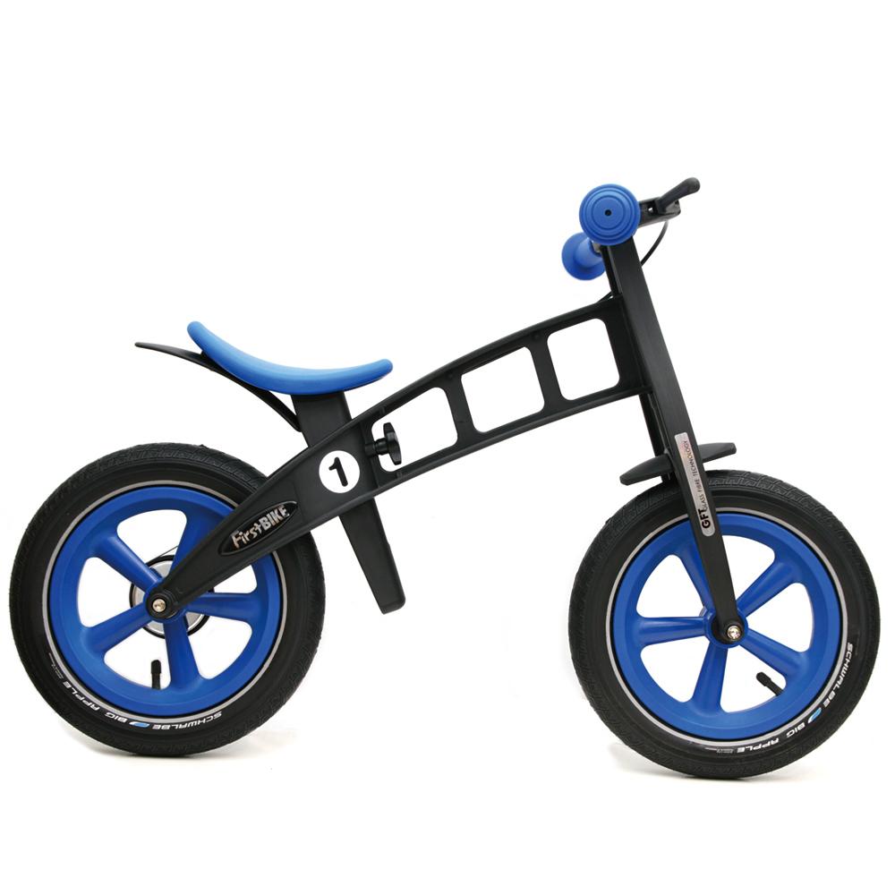 FirstBIKE/ファーストバイク LIMITED「BLUE」【ブレーキ付きバランスバイク】