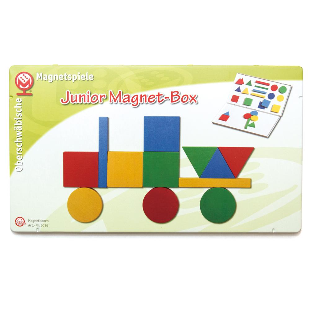 ◆高品質 Magnetspiele マグネットシュピーレ社 缶入りマグネットジュニア 販売期間 限定のお得なタイムセール
