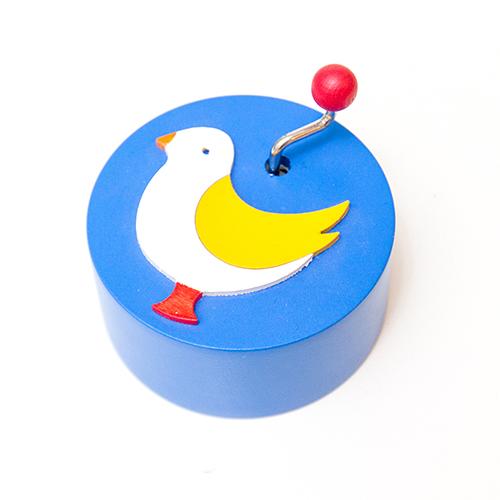 手回しオルゴール・鳥 【Kiener/キーナー社】