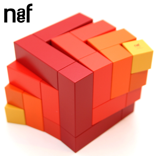 Naef キュービックス/Cubics「赤」【送料無料】