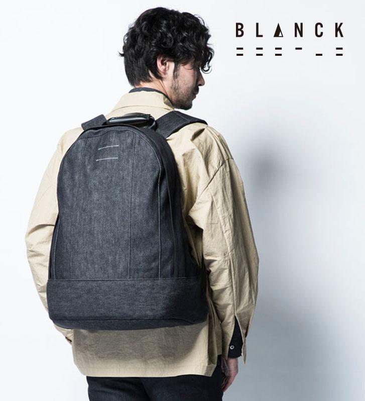 【BLANCK】アウトレット メンズ デニム バックパック リュック 訳あり プライスダウン ブランク 20101 made in japan 日本製