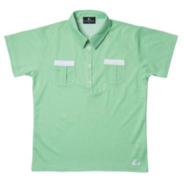 LUCENT(ルーセント) Ladies ゲームシャツ(グリーン) XLP4715 テニス グリーン 15SS