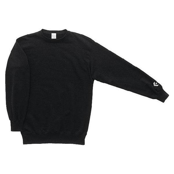 CONVERSE(コンバース) CB141201E 1900 バスケットボール プレーヤーズスウェットシャツ ブラック 16FW