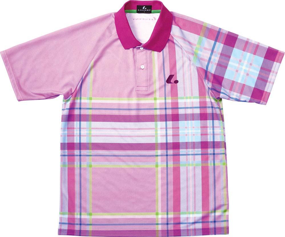 LUCENT(ルーセント) XLP8171  テニス UNIゲームシャツXLP8171 ピンク 16SS