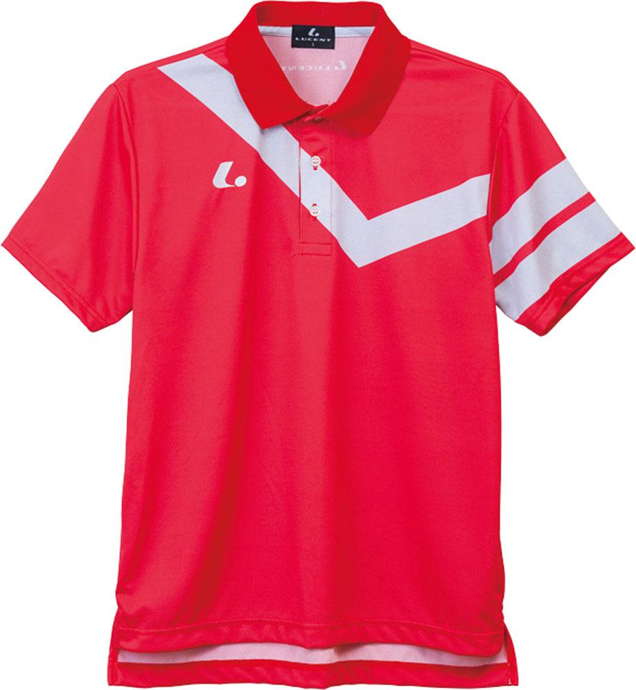 LUCENT(ルーセント) XLP8311 テニス ユニセックス ゲームシャツ レッド 16FW