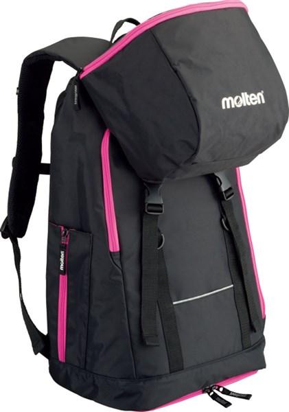 モルテン Molten 当店一番人気 LB0032KP バックパック 黒×ピンク 当店一番人気 ミニバスケットボール用 17SS