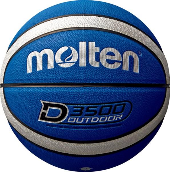 モルテン Molten B7D3500BS アウトドア用 祝開店大放出セール開催中 バスケットボール7号球 ブルー×シルバー 17SS おすすめ