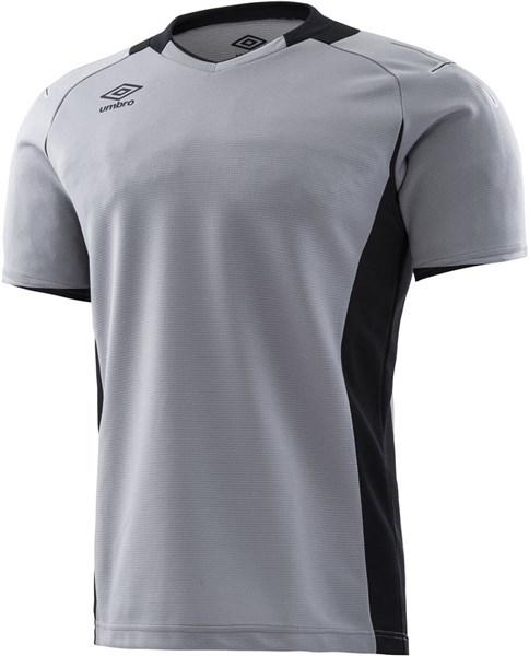 UMBRO(アンブロ) UAS6708G SLV サッカー ゴールキーパーシャツ ショートスリーブ 18SS