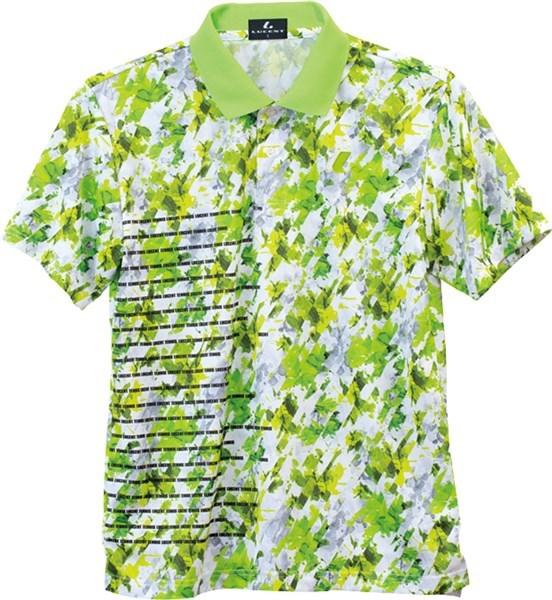 LUCENT(ルーセント) XLP8425  テニス ユニセックス ゲームシャツ ライム 17FW