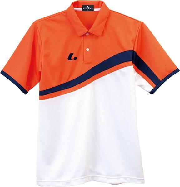 LUCENT(ルーセント) XLP8432  テニス ユニセックス ゲームシャツ オレンジ 17FW