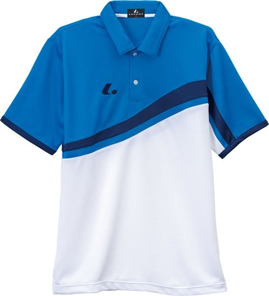 LUCENT(ルーセント) XLP8437  テニス ユニセックス ゲームシャツ ブルー 17FW