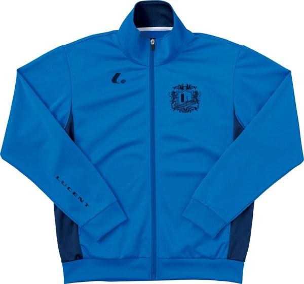 LUCENT(ルーセント) XLW4717  テニス ユニセックス ウォームアップシャツ ブルー 17FW