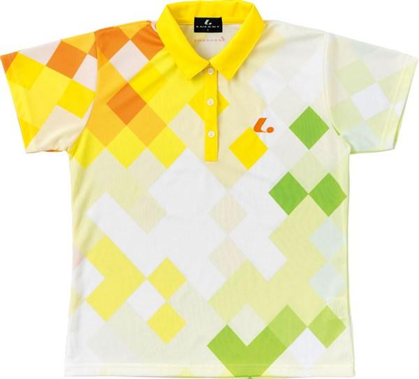 LUCENT(ルーセント) XLP4913 テニス レディース ゲームシャツ イエロー 18SS