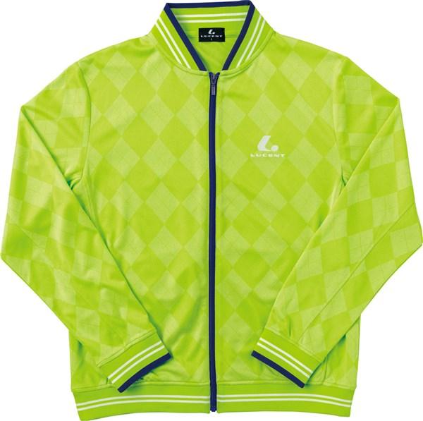 LUCENT(ルーセント) XLW4735 テニス ユニセックス サマーウォームアップシャツ ライム 18SS
