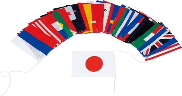 TOEI LIGHT(トーエイライト) B2501 学校用品 テトロン万国旗30S(連結済) 18SS
