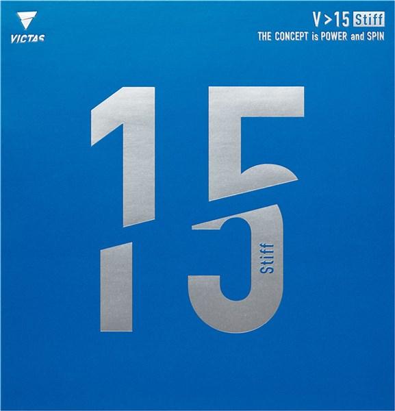 VICTAS(ヴィクタス) 020521 0040(レッド) 卓球 ラバー 裏ソフトラバー V>15 スティフ 18SS
