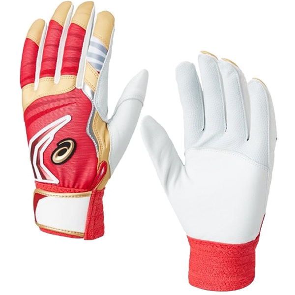 asics(アシックス)3121A245-601野球 バッティンググローブSPEED AXEL バッティング用手袋19AW