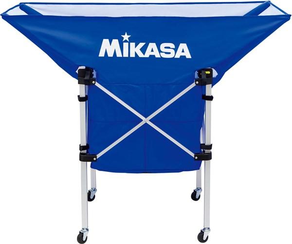 ミカサ MIKASA 価格交渉OK送料無料 ACBC210BL バレーボール 舟型 携帯用折り畳み式ボールカゴ ブルー 19SS 安心の実績 高価 買取 強化中