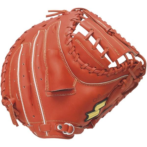エスエスケイ(SSK) SSM201 33 野球 ミット 軟式 スーパーソフト 捕手用 指カバー付き 20SS