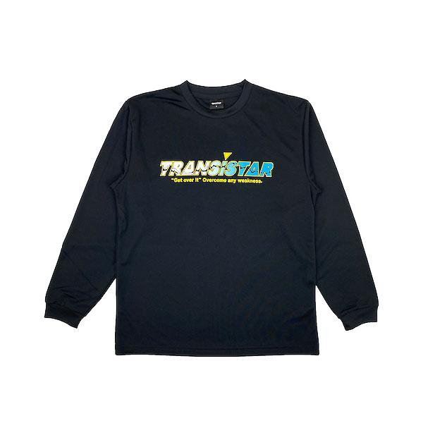 TRANSISTAR トランジスタ 再販ご予約限定送料無料 新作入荷!! HB20TS13 BLK ハンドボール ロングスリーブ HB 20FW DRY STREAM L Tシャツ