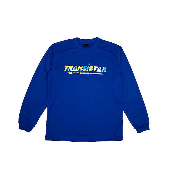 TRANSISTAR トランジスタ HB20TS14 BLU 正規品 ハンドボール ロングスリーブ Tシャツ まとめ買い特価 20FW L DRY HB SPRAY