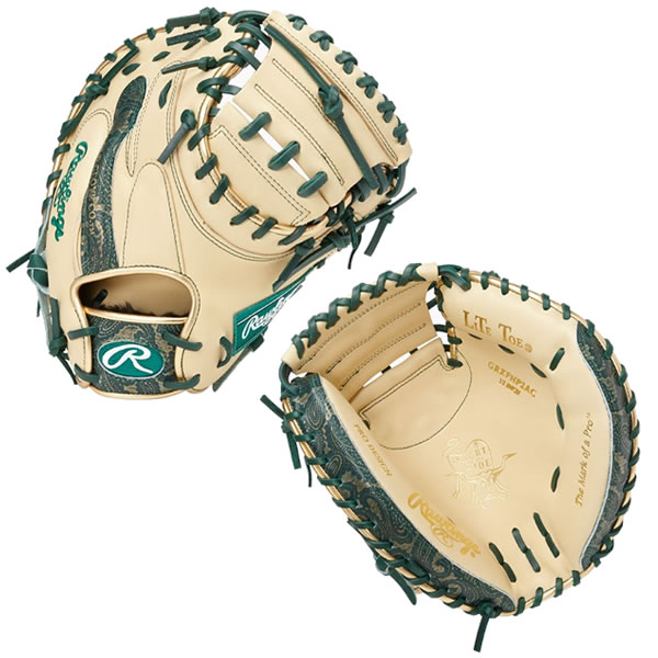 ローリングス Rawlings GRXFHP2AC CAM DGRN 現品 野球 ミット 軟式 ◆セール特価品◆ PAISLEY 20FW HOH キャッチャーミット