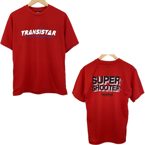 TRANSISTAR セール トランジスタ HB21TS10 REDBLK ハンドボール 21SS 選択 SUPERSHOOTER2 Tシャツ 半袖