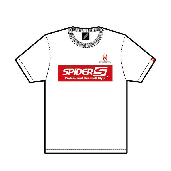 スパイダー SPIDER SPIDERHS 03 ハンドボール 人気ブランド多数対象 DRY Design Tシャツ 全店販売中 21SS WHITE No.3