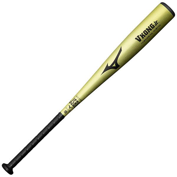 ミズノ MIZUNO 1CJMY15477 40 野球 バット 好評受付中 Vコング Jr 金属製 即出荷 少年軟式用 21FW