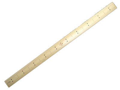 A convenient measure of Japanese dressmaking and kimono 'bamboo scale (ruler) whale Shaku""