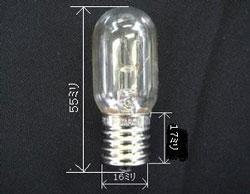 ライト球 110V 大幅にプライスダウン 15W メール便での発送OK 格安 幅広タイプ