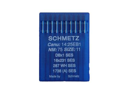 ニット地のソーイングに人気のドイツ製ミシン針 シュメッツ針 DB 10本入 1SES お値打ち価格で 送料無料お手入れ要らず メール便での発送OK