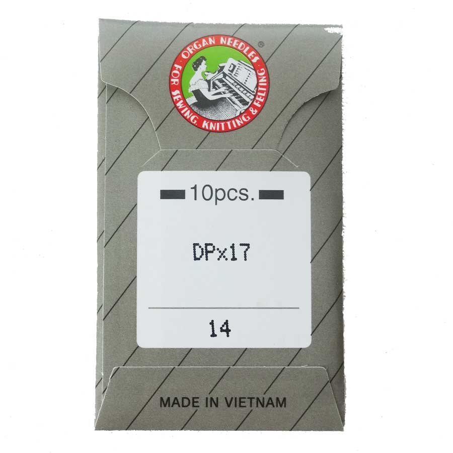 オルガン針 新品 送料無料 DP 17 メール便での発送OK ファッション通販 10本入