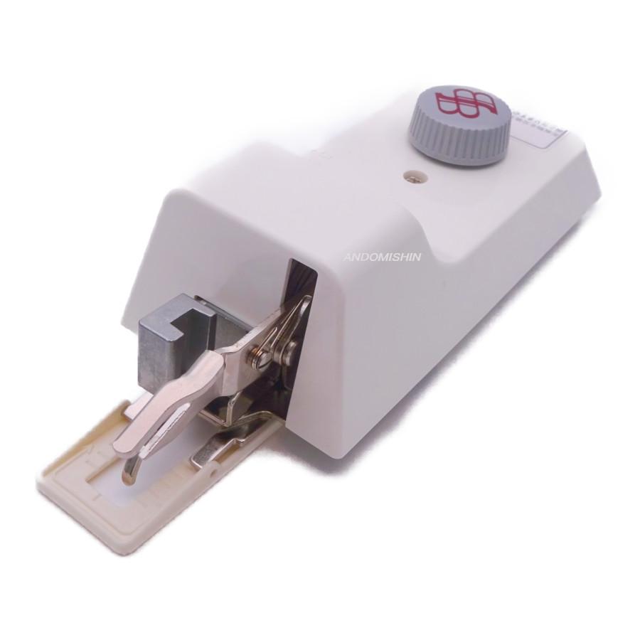 職業用ミシンでも簡単にボタンホールが出来ます 迅速な対応で商品をお届け致します ボタン穴かがり装置 B-6TA型 新作送料無料 代引き手数料サービス 送料無料