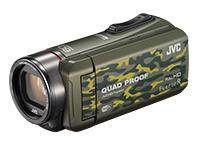 《送料区分1》JVC ハイビジョンメモリームービーGZ-RX600-G [カモフラージュ]【ラッキーシール対応】