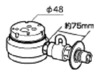 《送料区分1》パナソニック 分岐水栓 CB-SSH8