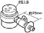 《送料区分1》パナソニック 分岐水栓 CB-SXC6