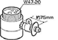《送料区分1》パナソニック 分岐水栓 CB-SS6