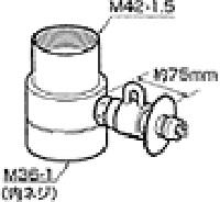 《送料区分1》パナソニック 分岐水栓 CB-SMJA6