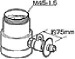 《送料区分1》パナソニック 分岐水栓 CB-SKC6