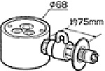 《送料区分1》パナソニック 分岐水栓 CB-SGA6