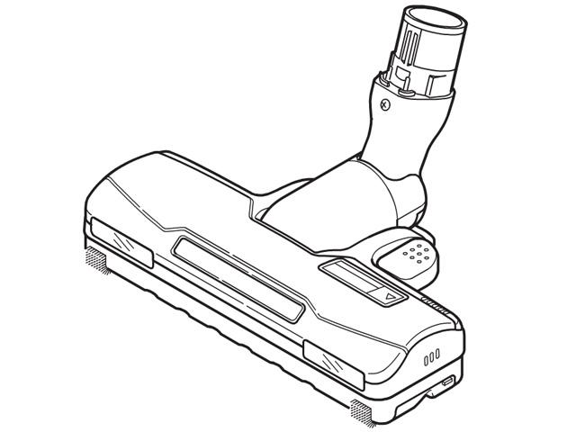 《送料区分1》パナソニック 床用ノズル AMV85P-HU0E
