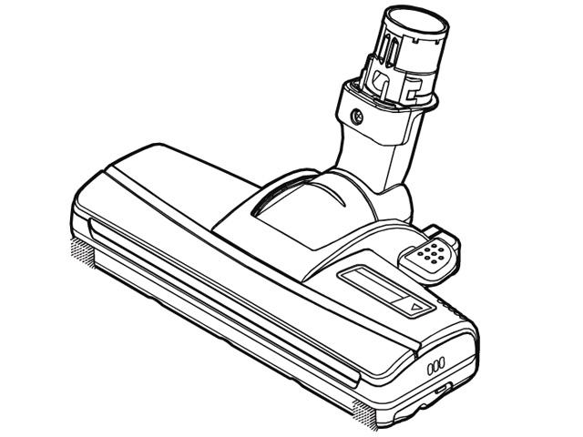 《送料区分1》パナソニック 床用ノズル AMV85P-JT0E