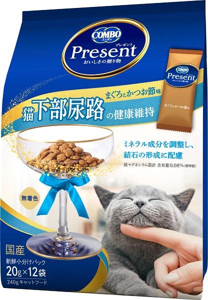 日本ペット コンボプレゼント テレビで話題 キャット 超定番 240g ドライ 猫下部尿路の健康維持