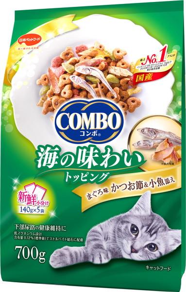 ディスカウント 日本ペット 激安通販専門店 コンボキャット まぐろ味 700g かつお節 小魚添え