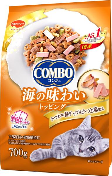 日本ペット 限定Special Price コンボキャット かつお味 かつお節添え 休み 鮭チップ 700g