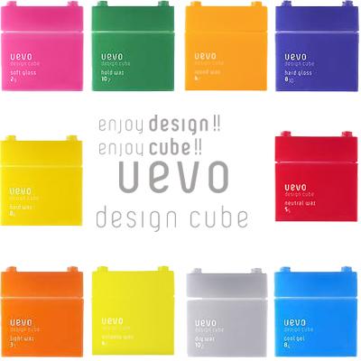 데 미 uevo (ウェーボ) 디자인 큐브 80g