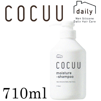 710 ml of COCUU daily co-cue moisture shampoo